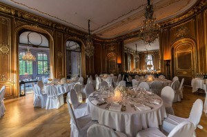 The interiors have been given the Karl Lagerfeld touch. Credit: Schlosshotel im Grunewald