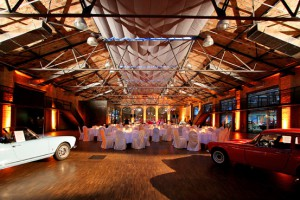 The event halls in Berlin's and Düsseldorf's Remise offer you and your guests a refined backdrop against which to get married. Credit: Classic Remise